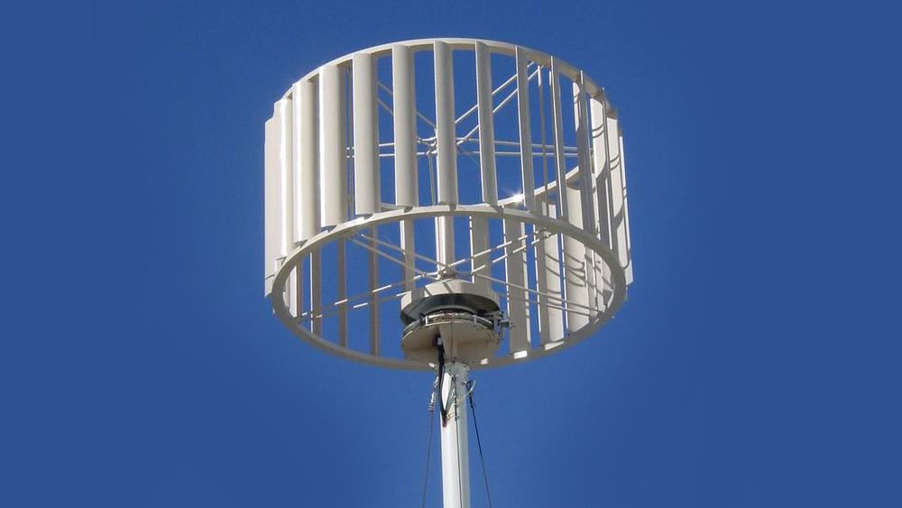 Vertical-axis wind turbines potential sources of cheaper